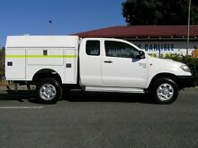 2012 Toyota Hilux KUN26R SR EXTRACAB White 5 Speed Manual Extracab Gosnells Gosnells Area Preview