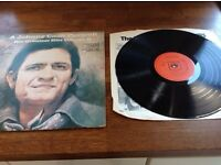 A Johnny cash portrait His Greatest Hits Volume II (1971 Vinyl CBS S64506