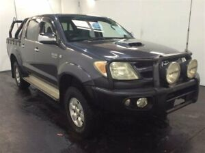 2006 Toyota Hilux KUN26R SR5 (4x4) Grey 4 Speed Automatic Dual Cab Pick-up Cardiff Lake Macquarie Area Preview