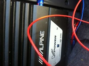 """12"""" sub and amplifier Alpine"""