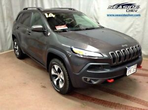 2014 Jeep Cherokee Trailhawk 4x4 Leather Heated Wheel