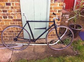raleigh record reynolds 501 single speed fixie fixed gear rat project