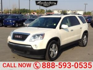 2012 GMC Acadia SLT Accident Free,  Leather,  Heated Seats,  3rd