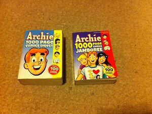 2 JUMBO Archie Comics in Great Condition