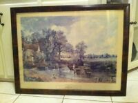 "John Constable ""The Hay Wain"" Print"