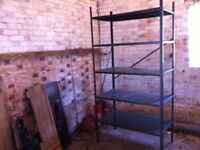 Shelving unit, metal heavy duty