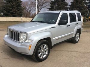 2008 Jeep Liberty, LIMITED, AUTO, 4X4, LEATHER, $8,500