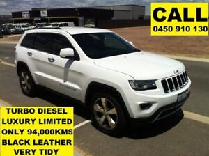 2014 Jeep Grand Cherokee WK MY14 Limited (4x4) Bright White 8 Speed Automatic Wagon Ellenbrook Swan Area Preview