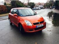 2007 07 SUZUKI SWIFT 1.3 GL 3 DOOR MANUAL