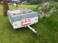 METAL UTILITY BOX TRAILER