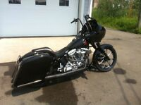 2002 Harley Davidson Softail Custom Bagger - ONLY 5600 MILES