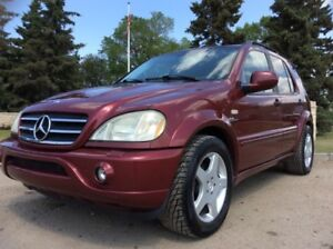 2001 Mercedes Benz ML55, AMG-PKG, AUTO, AWD, LEATHER, ROOF!