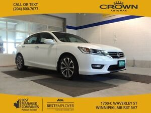 2014 Honda Accord Sedan Sport *Alloy rims/ Fog lights/ Dual Exha