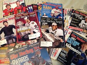 Collection de magazines Hockey News  - Faites une offre!