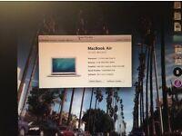 APPLE MAC AIR 2013 -13 INCH