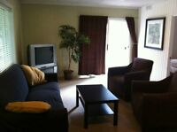 SYLVAN LAKE FULLY FURNISHED UPPER SUITE - 20 min's to Red Deer