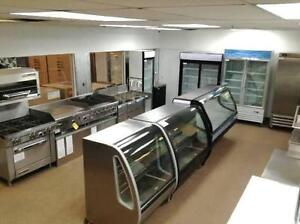 Restaurant, Commercial Kitchen Cooking Equipment Display Coolers, Freezers, BAR, DELI, BAKERY, NOT USED, NEW, WARRANTY