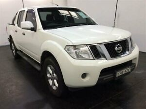 2012 Nissan Navara D40 MY12 ST (4x4) White 5 Speed Automatic Dual Cab Pick-up Cardiff Lake Macquarie Area Preview
