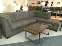 Very Pristine Chocolate Sectional