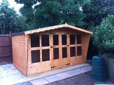 12x8 garden summer house.t&g.