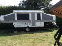 2007 PONY PALOMINO CAMPER HARD TOP TENT TRAILER