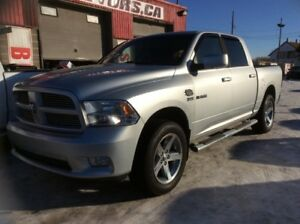 2010 Dodge Ram 1500, SPORT, AUTO, 4X4, LEATHER, ROOF, $13,500