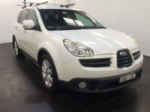 2006 Subaru Tribeca MY07 3.0R Premium (7 Seat) White 5 Speed Auto Elec Sportshift Wagon