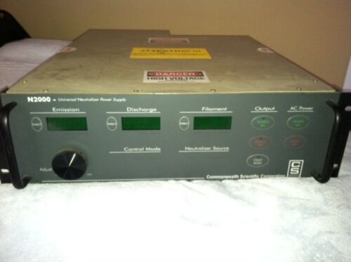 N2000 Universal Neutralizer Power Supply