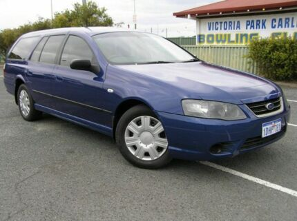 2010 Ford Falcon BF XT Blue 5 Speed Automatic Wagon Victoria Park Victoria Park Area Preview