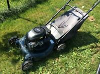 MOWER FOR PARTS OR REPAIR (DECK IS SOLID)
