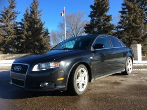 2008 Audi A4, S-LINE, 6SPD, AWD, LEATHER, ROOF, $9,500