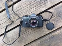 Olympus OM2 camera w/lens and case