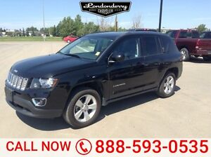 2015 Jeep Compass 4WD HIGH ALTITUDE Leather,  Heated Seats,  Sun