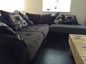Corner Sofa and chair (Sofology Napier)