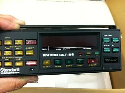 Nib Phillips Fm900 Mobile Fm91 With 900 Series Head New In Box Vhf Uhf Splits