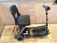 LUGGIE COMPACT / FOLDING MOBILITY SCOOTER LITHIUM STYLE BATTERY IMMACULATE CONDITION.