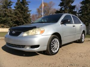 2005 Toyota Corolla, CE-PKG, COLD A/C, HOT HEATER! LOW KMS!