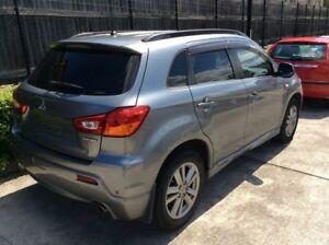 2011 Mitsubishi ASX XA MY11 Aspire Grey 6 Speed Constant Variable Wagon