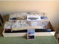 RMS Titanic 1:350th Minicraft model kit