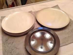 Inside or Outside Dining Plates - Great for the Student