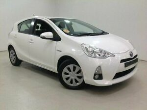 2013 Toyota Prius c NHP10R E-CVT White 1 Speed Constant Variable Hatchback Edgewater Joondalup Area Preview