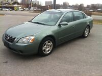 2003 Nissan Altima,  Automatic,  2.5  4 cyll  $1400, or best City of Toronto Toronto (GTA) Preview