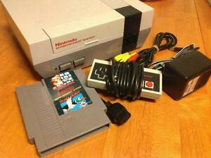 ****NINTENDO NES SYSTEM + MANY GAMES 4 SALE- MARIO, ZELDA, DONKEY KONG, MEGAMAN, CASTLEVANIA, CONTRA, PUNCHOUT, TMNT****