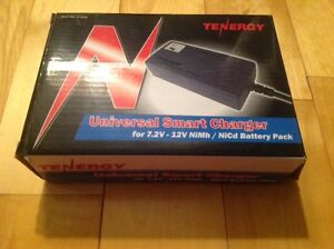 Tenergy NiCd Battery Pack Universal Smart Charger