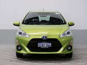 2015 Toyota Prius c NHP10R Hybrid Zest Continuous Variable Hatchback Morley Bayswater Area Preview