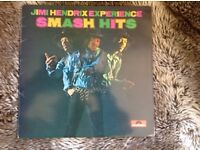 THE JIMI HENDRIX EXPERIENCE SMASH HITS (greatest/best of) LP - Polydor - 2310 268 Super UK