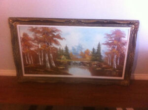 Vintage Canvas Painting