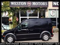 2011 Ford Transit Connect XLT* FULLY LOADED* SHELVING* A/C* NEW