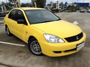 2007 Mitsubishi Lancer CH MY07 ES Yellow 4 Speed Auto Sports Mode Sedan Morayfield Caboolture Area Preview