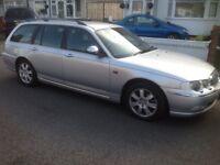 Rover 75 Connoisseur Estate Diesel top spec with fuel heater 2.0L